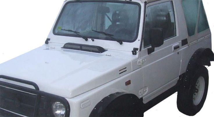 Wlot powietrza Suzuki Samurai/SJ413/SJ410 i inne samochody - normalny - SKLEP 4x4 - snorekele, dystanse, konsole, wloty, metromierze, uszczelniacze i inne...