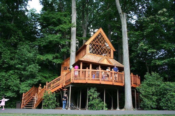 Longwood Gardens Animal Planet Treehouse Builders, Swedish Church inspired.