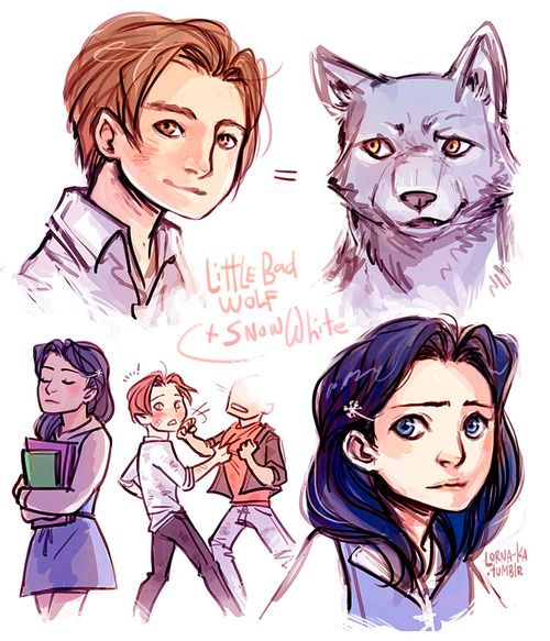 Bigby wolf and snow white kids - photo#14