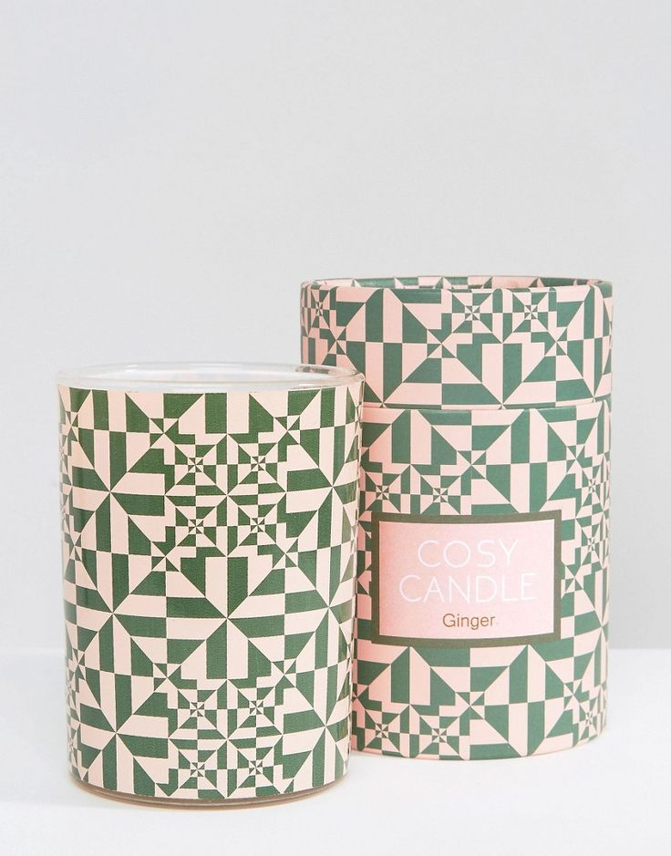 What a perfect patternful gift.... Monki Ginger Scented Candle