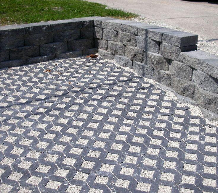 Porous Concrete Driveway Google Search Construction