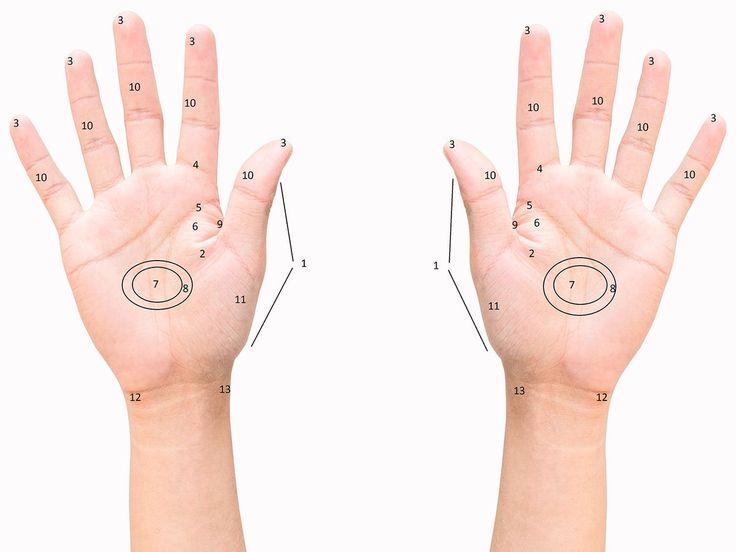 Bolí vás záda? Nemůžete se soustředit? Máte potíže s trávením? Zkuste si pomoci sami masáží svých reflexních bodů – tentokrát těch, které najdete na svých dlaních.