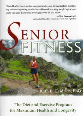 Senior Fitness--Ruth Heidrich is truly an inspiration to all seniors, and a role model for young people as well. Her strength and resolve is evident through this narrative. Her readers may not choose to emulate her impressive regimen, but even if they follow her formula combining a vegan diet with vigorous exercise, they will reap the benefits in their senior years. She is living proof that her program works.