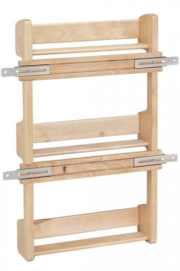 They should have shown the front of this not the back!  Rev-A-Shelf Door-Mount Spice Rack - Spice Racks For Cabinets -