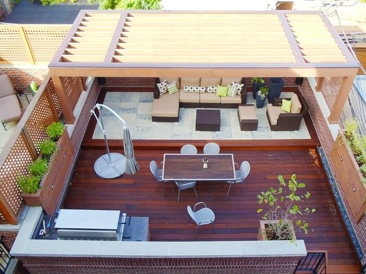 Chicago Roof Deck and Garden - Chicago, IL, United States