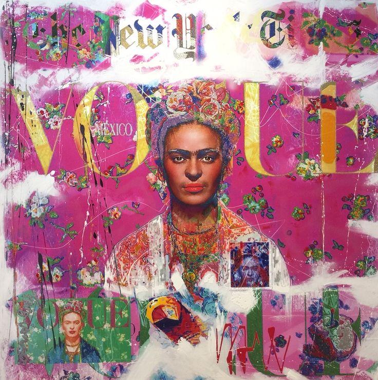 Nelson Fabiano - Frida Kahlo - Eden Fine Art Gallery
