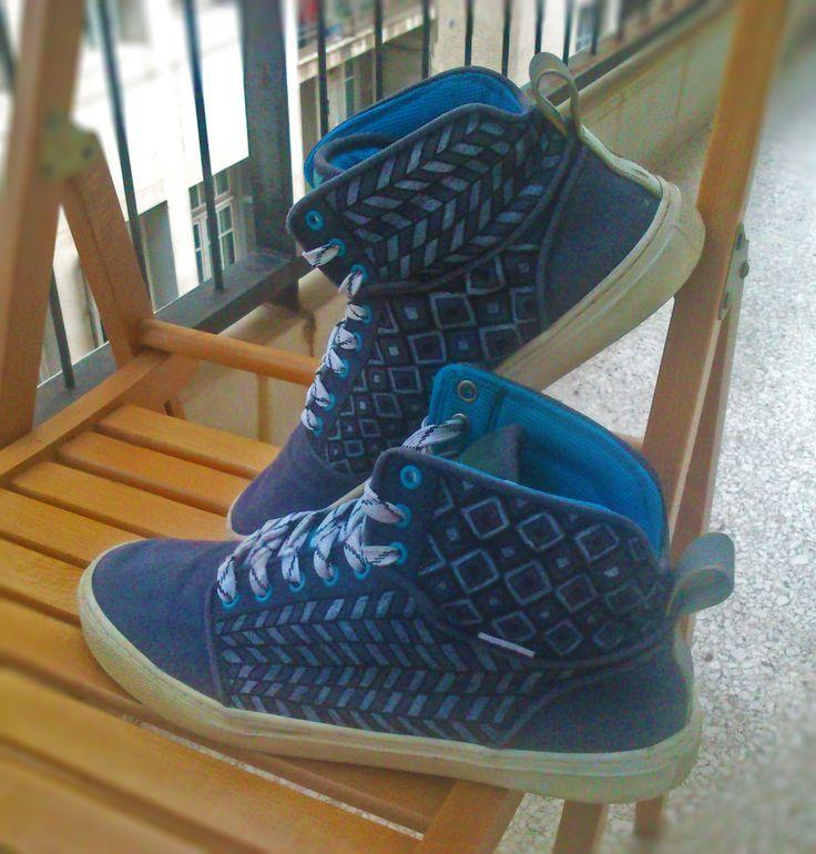 Hand painted shoes with geometric designs! Please check my etsy shop!! https://www.etsy.com/shop/MirandaKou?ref=hdr_shop_menu