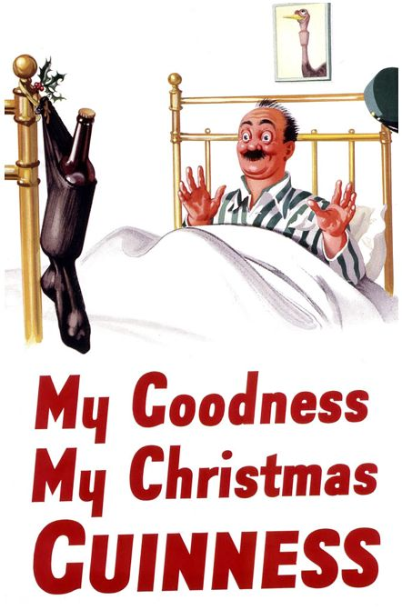 Christmas beer ads -- they're hilarious! #vintage #christmas #vintagechristmas