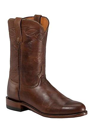 Lucchese 1883 Men's Tan Ranch Hand Roper Boot