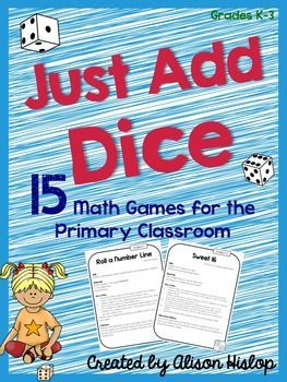 15 Math Games for the Primary Classroom K-3