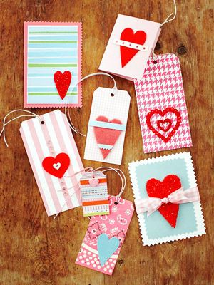 Valentine cards and tags...