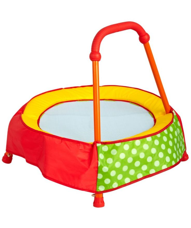 Buy Chad Valley Toddler Trampoline - Green at Argos.co.uk - Your Online Shop for Trampolines and enclosures, Pre-school.