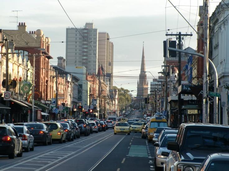 Brunswick Street, Melbourne.