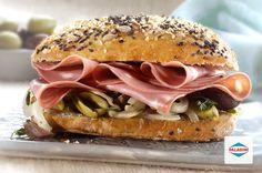 Sándwich de mortadela PALADINI mediterráneo