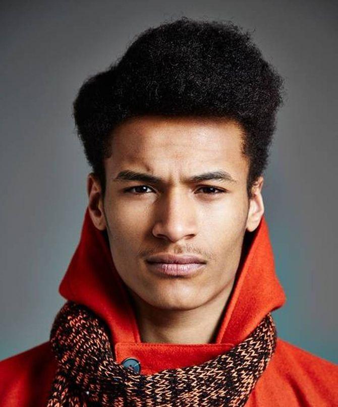 Les 25 meilleures id es concernant coupe afro homme sur pinterest haircut black man coiffure - Degrade afro homme ...