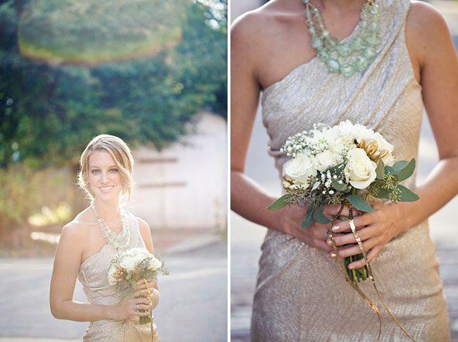 Green + Glam Wedding Ideas