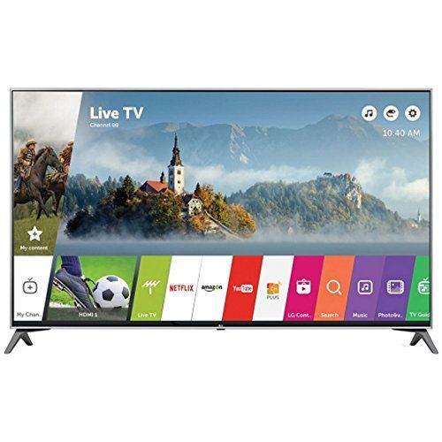 Online LG 49 Super UHD 4K HDR Smart LED TV 2017 Model (49UJ7700) with Transformer Tap USB w/ 6-Outlet Wall Adapter and 2 Ports & Deco Mount Slim Flat Wall Mount Ultimate Bundle Kit for 32-60 inch TVs Sale