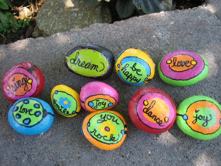112 Best Written In Stone Images On Pinterest Rock Painting Painted Rocks And Painting On Stones