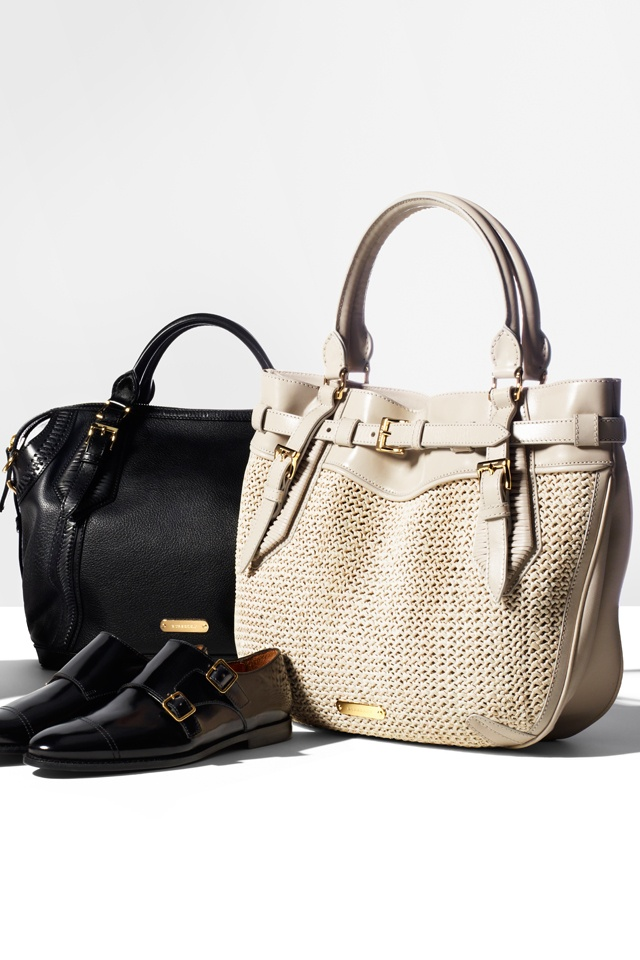 Burberry women's accessories from the Spring/Summer 2012 collection
