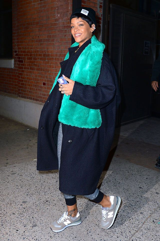 Rihanna street style 2014 | Rihanna Shows Us How To Do High-Low Street Style In New York