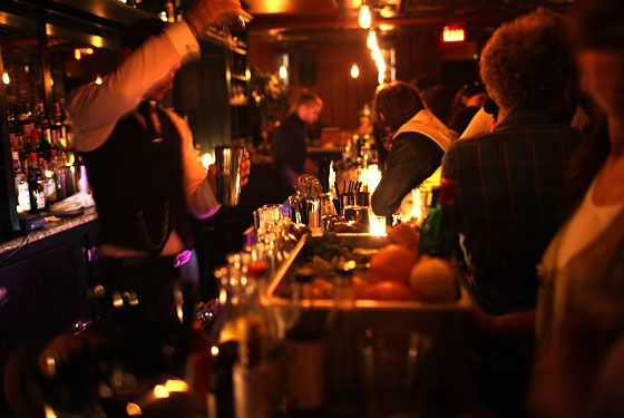 Milk & Honey (NYC) - cocktails which are absolute perfection....reservation only policy