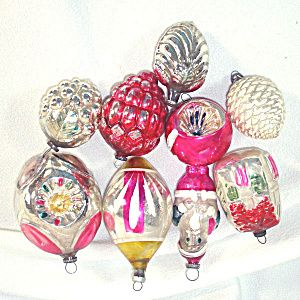 676 best Vintage Christmas Ornaments images on Pinterest | Vintage ...