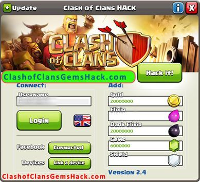 Are you tired of searching for real and working clash of clans hack tool for free gems? Come in we're the first company to develop cheats with no survey.
