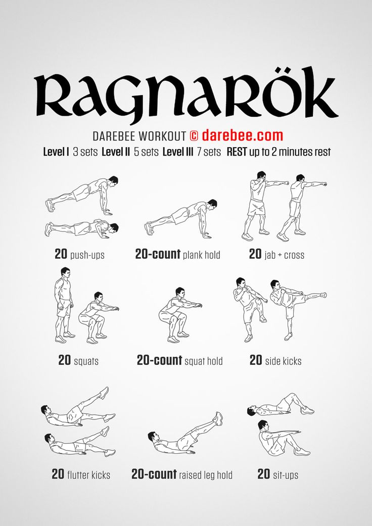 Perefect Timing To Finid This Ragnarok Workout Right After