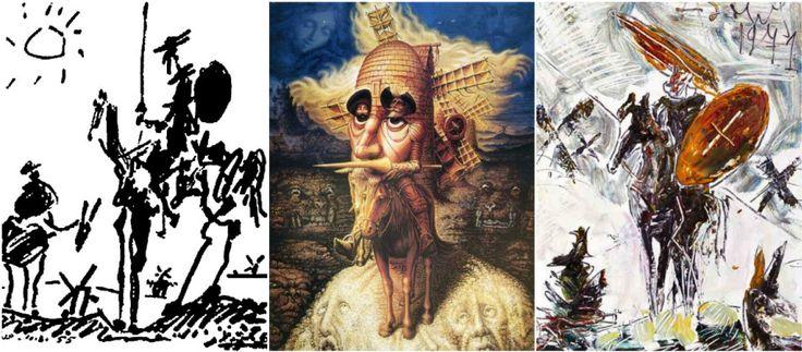 """""""Дон Кихот"""" с лучшими картинами и иллюстрациями, от Доре и Дали до Серова и Зверева"""