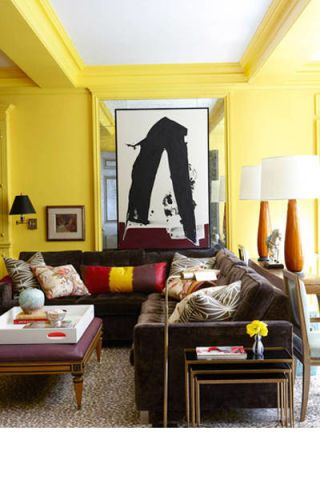 12 ways to bring pops of color into your home decor: