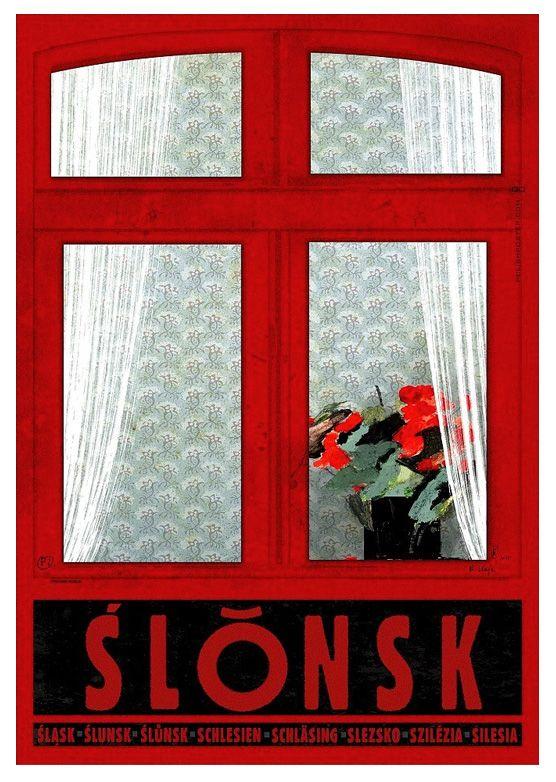 POLAND - Silesia / Plakat-Polska series / Postcards / Postallove - postcards made with love
