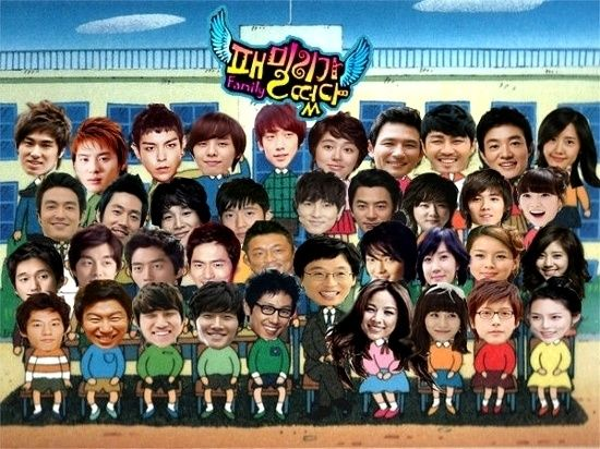 Family Outing Members And Guests Season 1