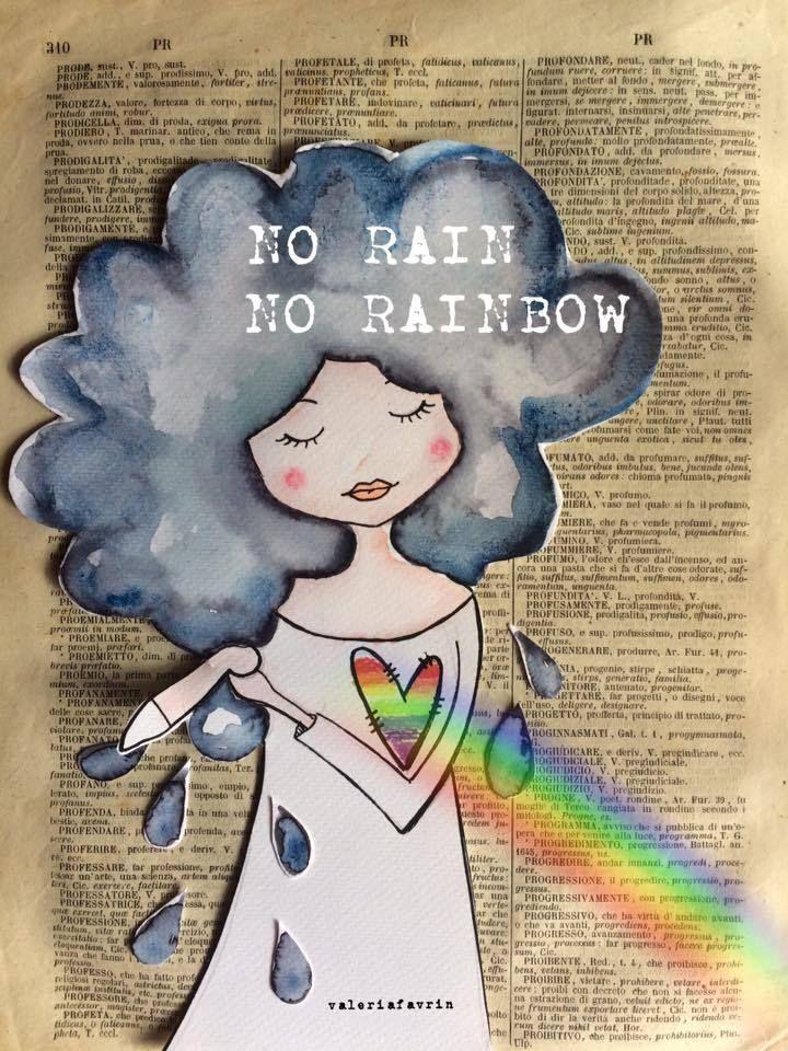 """ingarbugliata-mente: """" """"Chi desidera vedere l'arcobaleno, deve imparare ad amare la pioggia."""" Paulo Coelho """""""