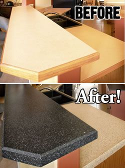 Refinishing Countertops and Do-It-Yourself Painting | Miracle Method