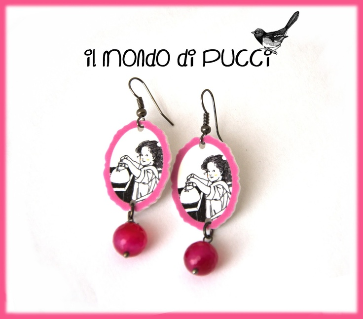 Il mondo di Pucci: ♥ Orecchini TEA PARTY