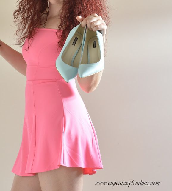 L.C.: OOTD: Clubbing Outfit #pink #dress #stilettos