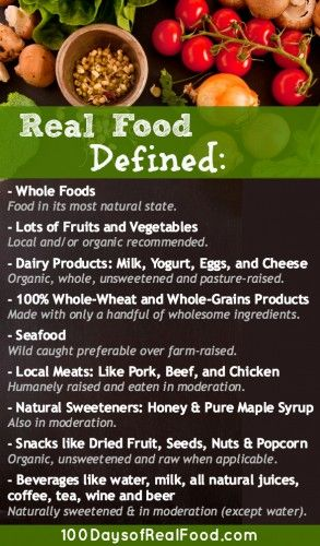 100 Days of Real Food Rules- So I'm trying out the 10 day Challenge, not quite ready for 100 days yet!