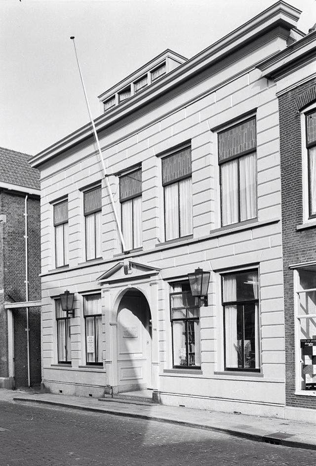 Raadhuis in de Overschiese Dorpsstraat