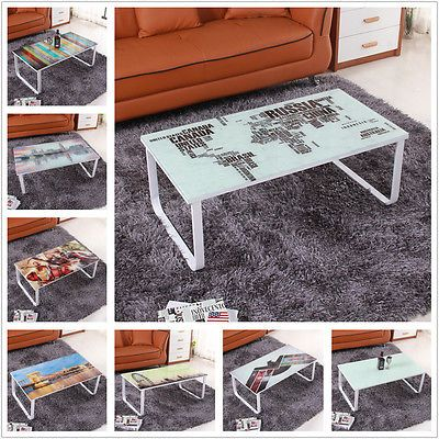 New rectangle living room #glass #coffee #table side corner end #table 8 pattern,  View more on the LINK: http://www.zeppy.io/product/gb/2/162193343903/