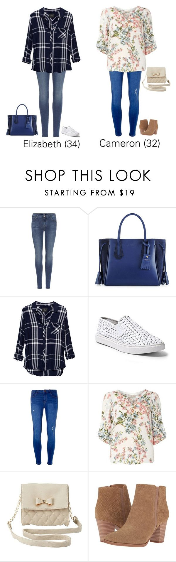 """Black Friday Shopping"" by thatcrazyfashionlady ❤ liked on Polyvore featuring 7 For All Mankind, Longchamp, Rails, Steve Madden, Dorothy Perkins, Billie & Blossom, Charlotte Russe and Franco Sarto"
