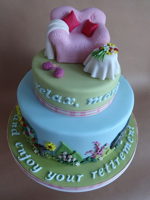 Mary's Retirement Cake | Flickr - Photo Sharing!