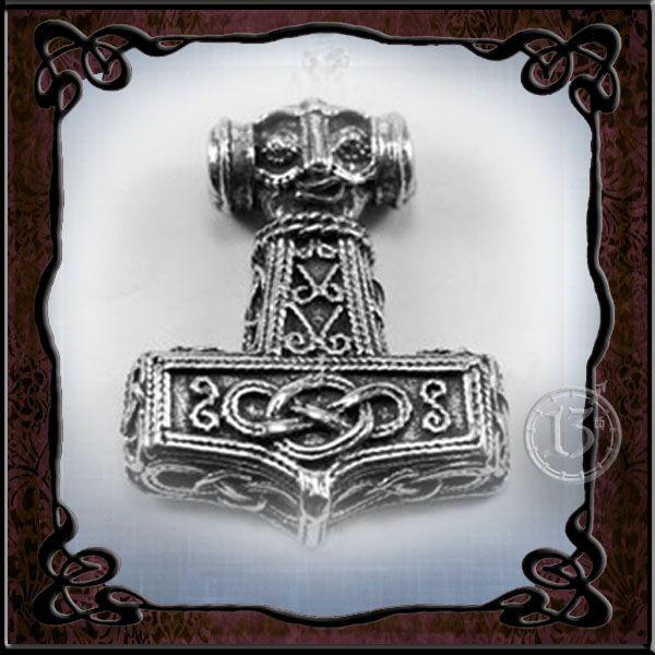 Thor's Hammer Pendant.