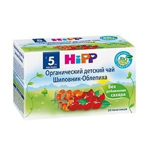 Hipp Органический детский чай, шиповник-облепиха, с 5 мес  — 329р.  Хорошо утоляющий жажду фруктовый чай приготовлен из натурального сырья и обладает приятным вкусом и ароматом. Чай подходит в качестве дополнительно источника жидкости в случае необходимости, например, из-за повышенного потоотделения или в период введения в рацион ребенка прикорма. Чай производится из высококачественного сырья и является мягким напитком, предназначен для детей раннего возраста, начиная с 5-го месяца…