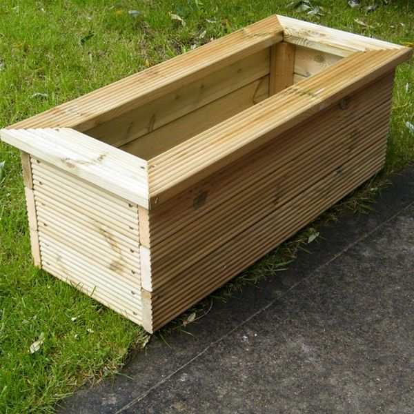 Best 20+ Wooden planters ideas on Pinterest | Wooden planter boxes ...