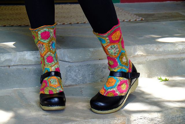 Ravelry: AmyA's Vexy Hexy Goldilocks Socks ❤