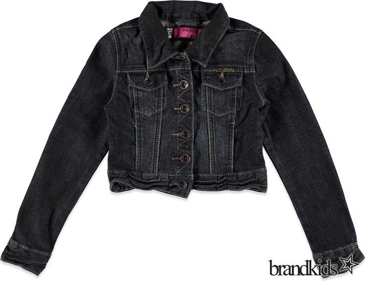 Blue Rebel Spijkerjas GROUPY black wash zwart - Meisjes Colberts en Blazers €11,00