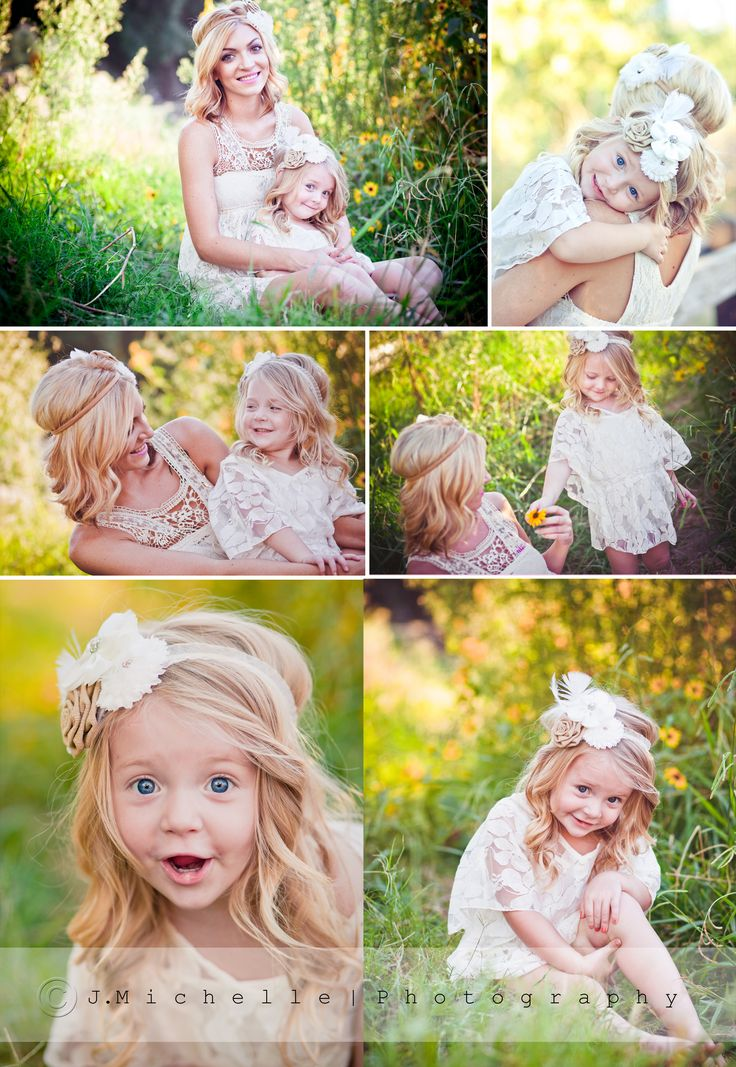 Mommy & Daughter Photo Session, but this would be cute also for a son giving mommy flowers...