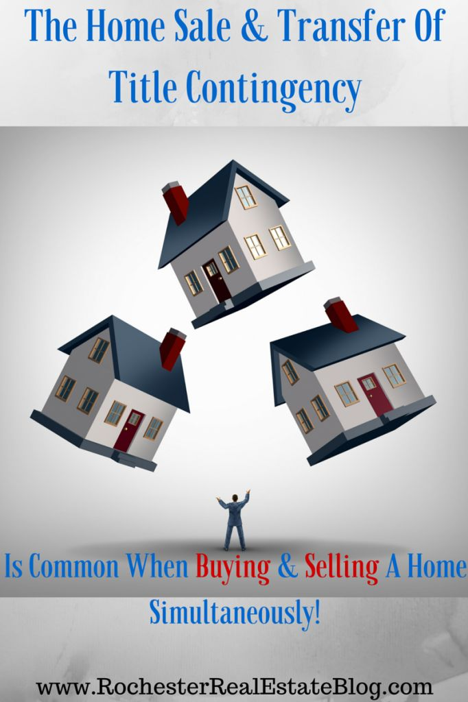 The Home Sale & Transfer Of Title Contingency Is Common When Buying & Selling A Home Simultaneously - http://www.rochesterrealestateblog.com/home-buying-contingencies-to-consider-including-in-your-purchase-offer/ via @KyleHiscockRE #realestate #homebuying