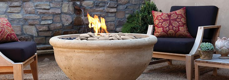 17 best images about artisan fire bowls on pinterest for Eldorado stone fire bowl
