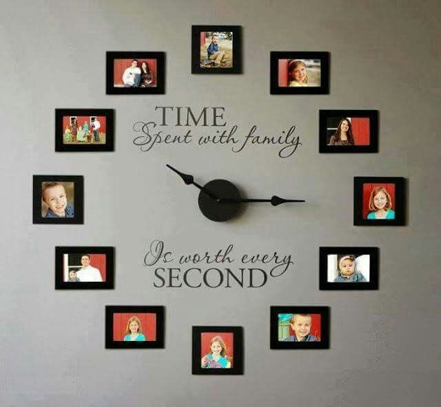 Time spent with family is worth every second.
